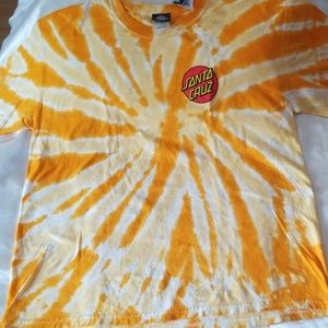Santa Cruz Skateboards Tie Dye Tee - Large